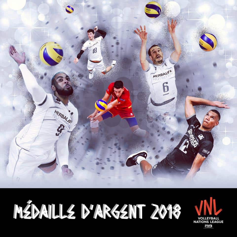 best service 1c6c9 7632c La compo chaussures de l équipe de France de volley VNL 2018