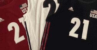 Image de l'article Les USA et adidas dévoilent leurs nouveaux maillots 2018