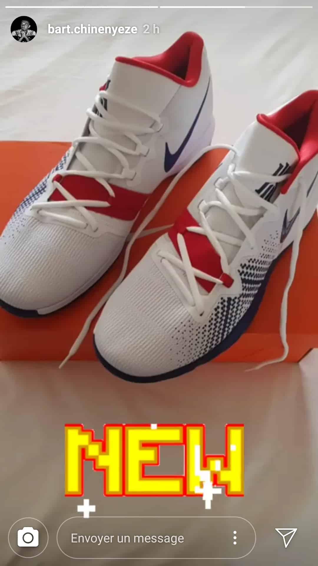 Les nouvelles Nike Kyrie Flytrap de Barthélémy Chinenyeze