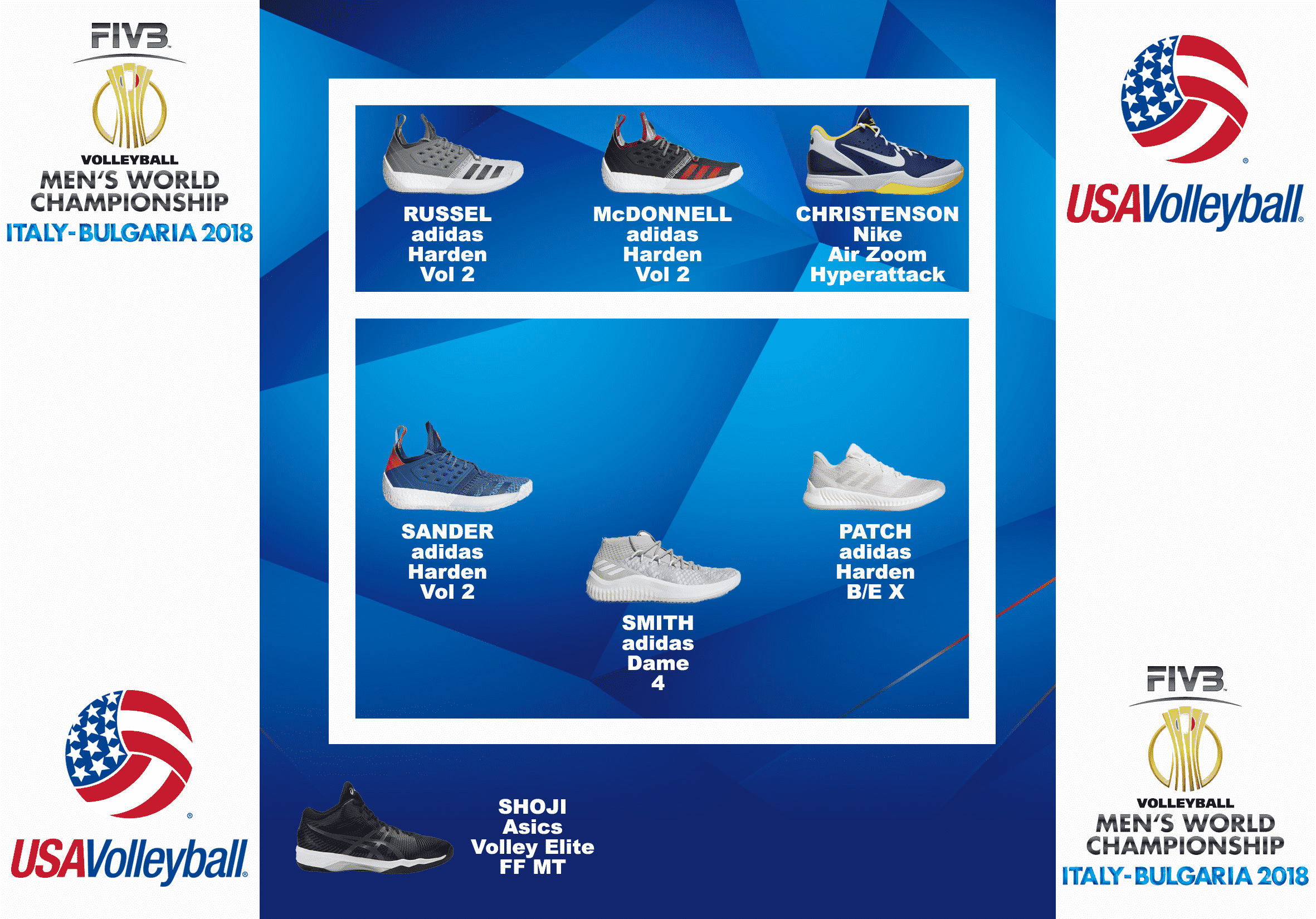 compo-chaussures-volley-USA-championnat-du-monde-2018