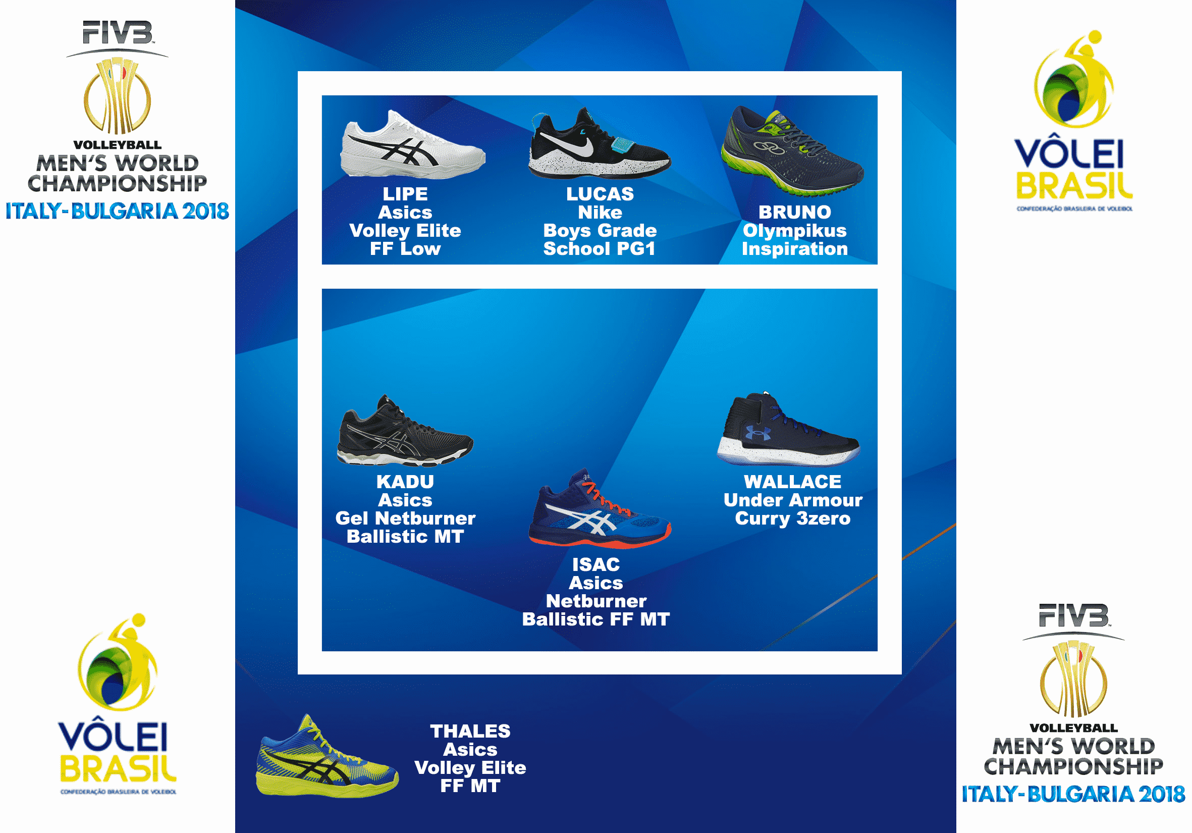 compo-chaussures-volley-volleypack-équipe-brésil-championnat-du-monde-2018