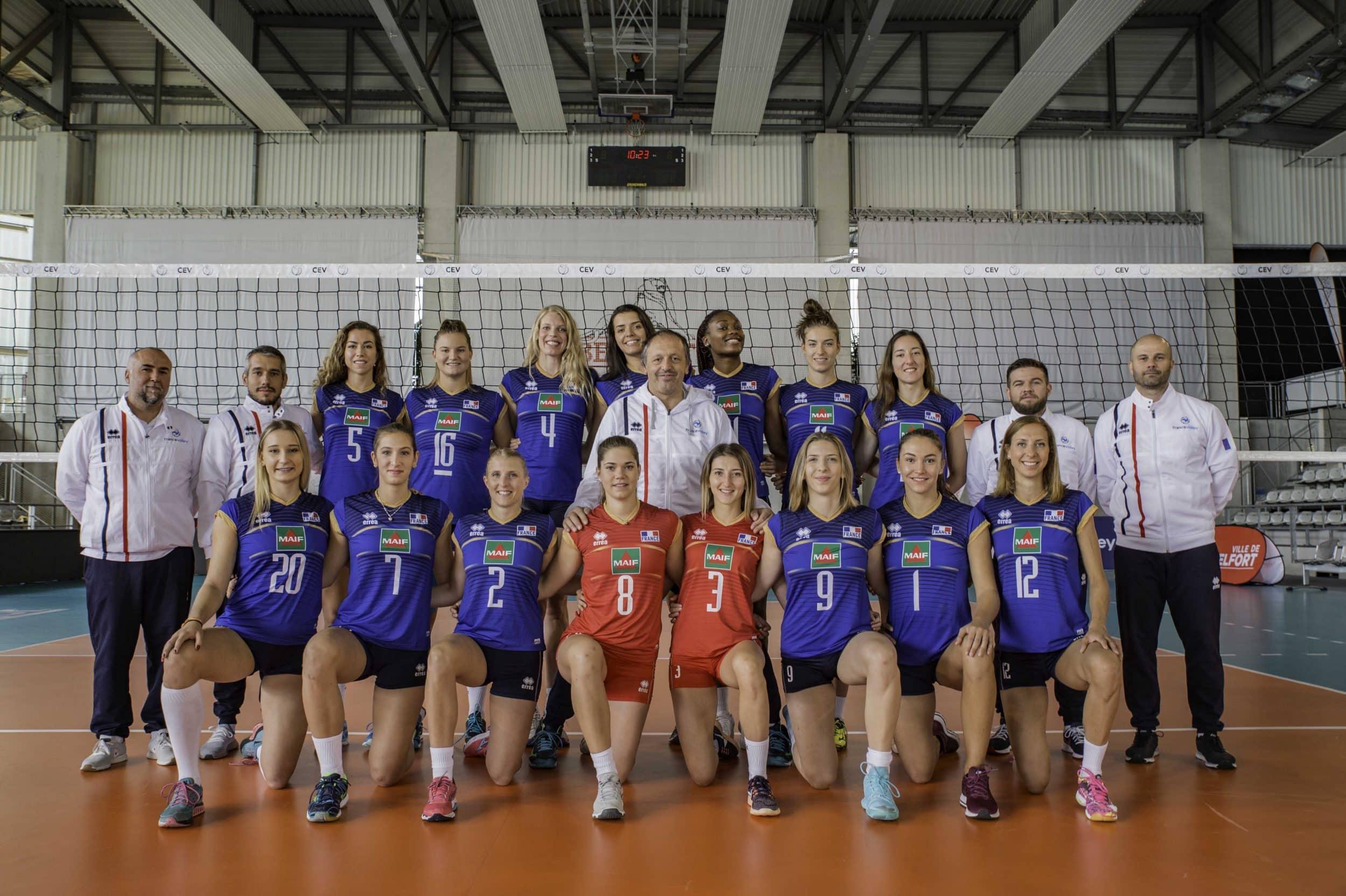Errea prolonge son partenariat avec l'équipe de France de volley jusqu'en  2021