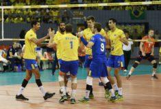 Image de l'article La compo chaussures de l'équipe du Brésil de volley pour le championnat du monde 2018