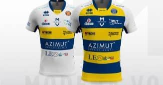 Image de l'article Modena Volley et Errea présentent les maillots 2018-2019