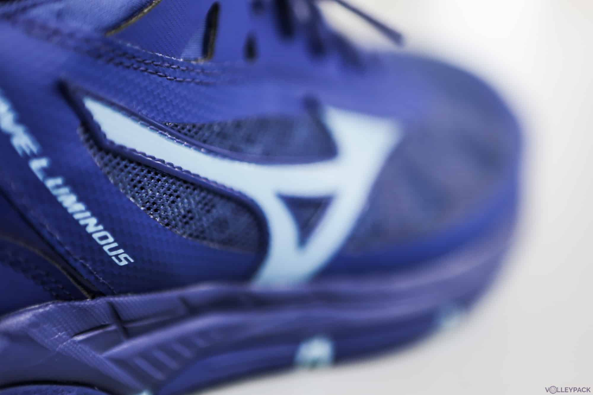 Test des chaussures de volley Mizuno Wave Luminous
