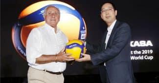 Image de l'article Le nouveau ballon de volley Mikasa : le V200W