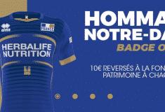 Image de l'article Un badge en hommage à Notre-Dame de Paris sur les maillots de l'équipe de France