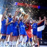 La compo chaussures de l'équipe de Serbie pour l'Euro de volley 2019