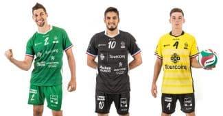 Image de l'article TLM Volley et Allsix dévoilent leurs maillots 2019-2020