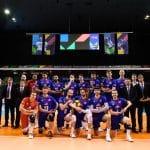 La compo chaussures de l'équipe de France pour le TQO 2019 à Berlin