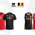Errea dévoile les nouveaux maillots de volley de la Belgique