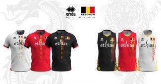 Image de l'article Errea dévoile les nouveaux maillots de volley de la Belgique