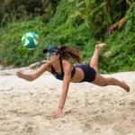 Nouveau coloris pour le ballon de beach-volley BV900 de Copaya