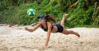 Image de l'article Nouveau coloris pour le ballon de beach-volley BV900 de Copaya