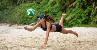 Image de l'article Nouveau coloris pour le ballon de beach-volley BV900 de Copaya