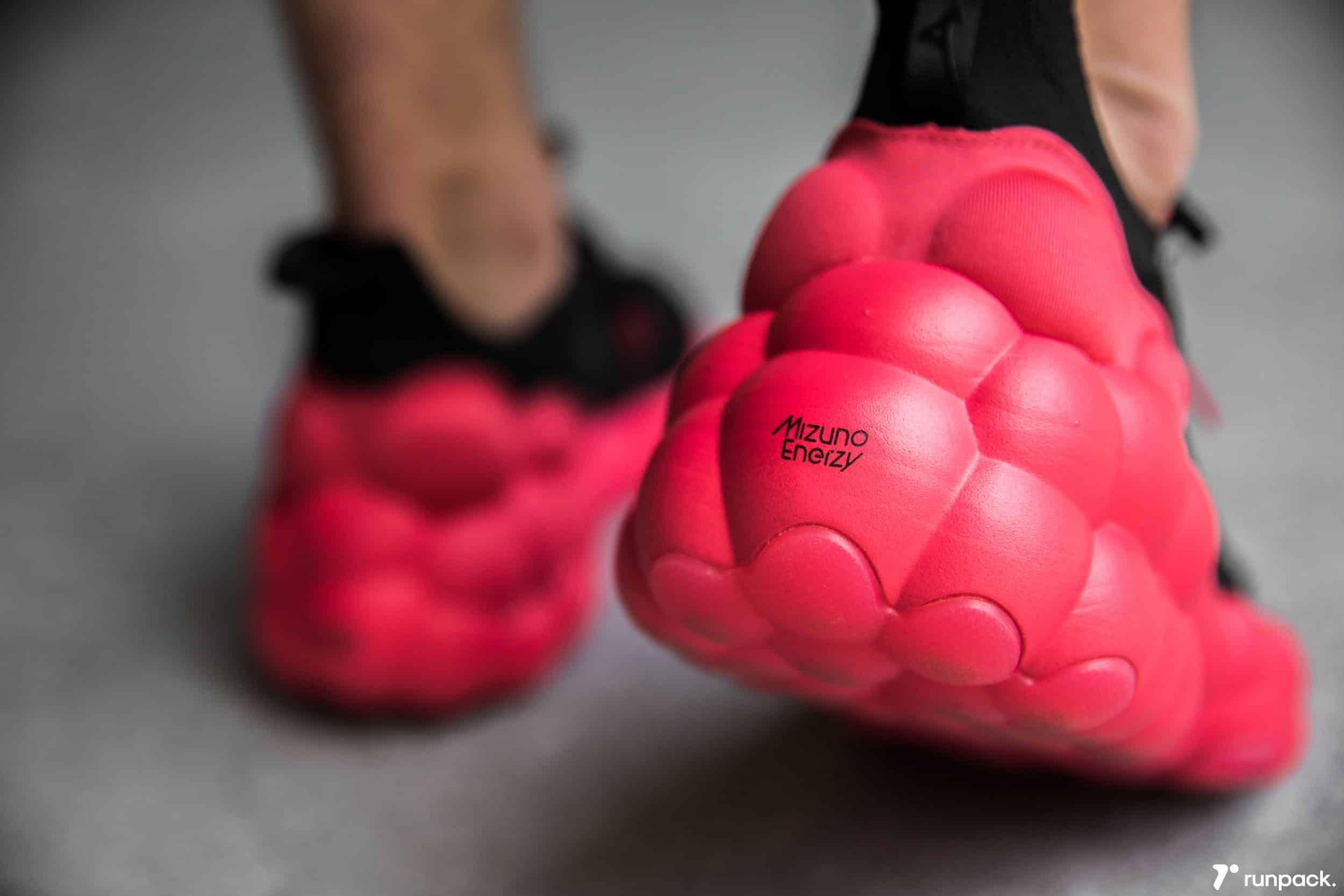 Mizuno Enerzy, la nouvelle technologie pour les chaussures