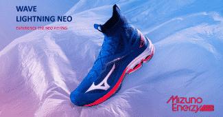 Image de l'article Mizuno présente sa nouvelle chaussure de volley : la Wave Lightning Neo