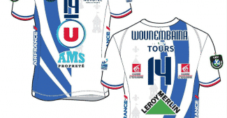 Image de l'article Tours Volley Ball et Erreà dévoilent leurs nouveaux maillots pour la saison 2020-2021