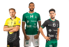 Image de l'article TLM Volley et Allsix présentent les maillots pour la saison 2020-2021