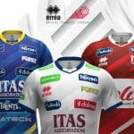 Trentino Volley et Erreà présentent les nouveaux maillots 2020-2021