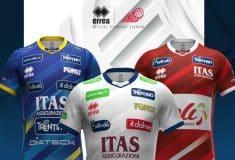 Image de l'article Trentino Volley et Erreà présentent les nouveaux maillots 2020-2021