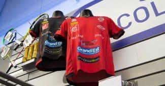 Image de l'article Les maillots du CVB52 disponibles chez Intersport